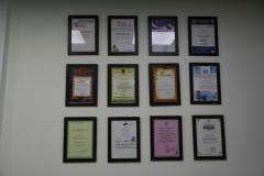 Наши сертификаты и благодарности