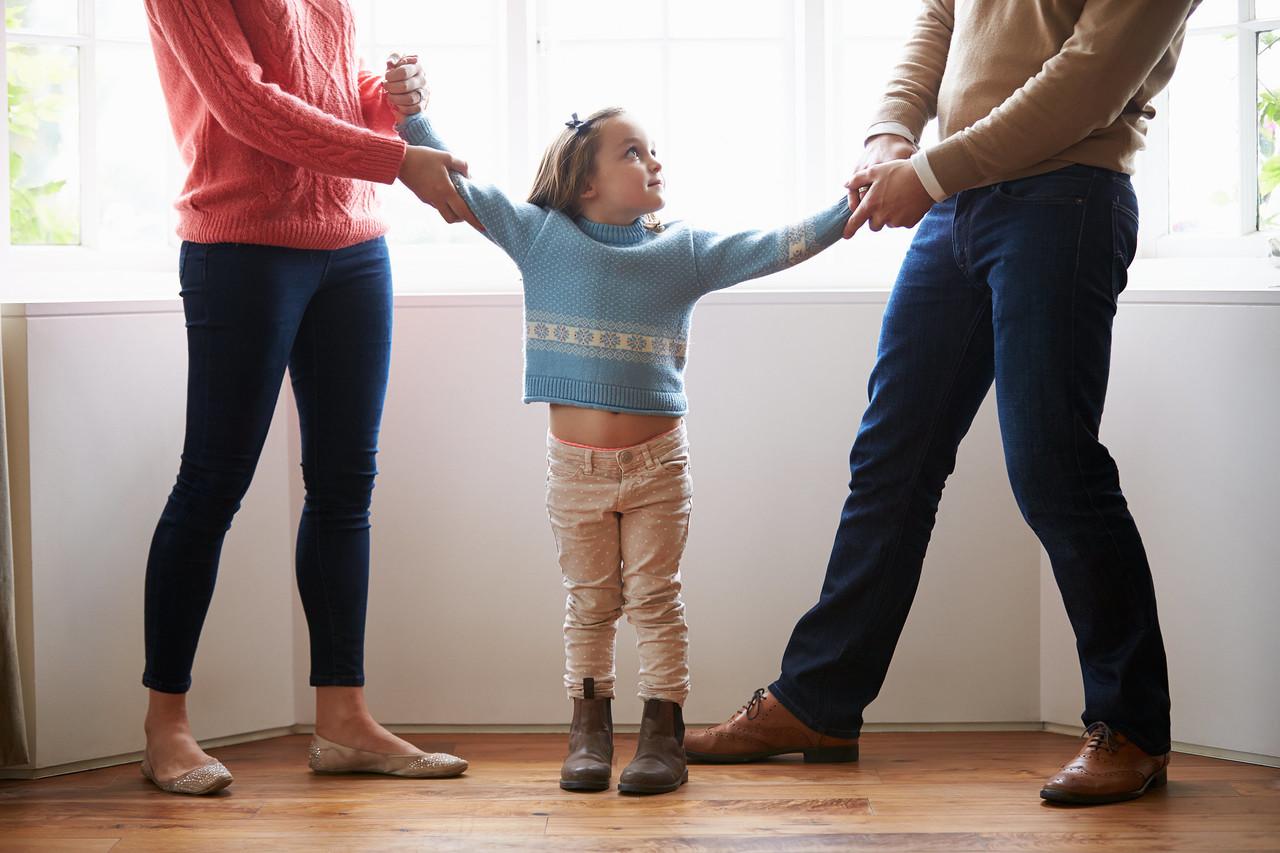 как при разводе оставить ребенка себе